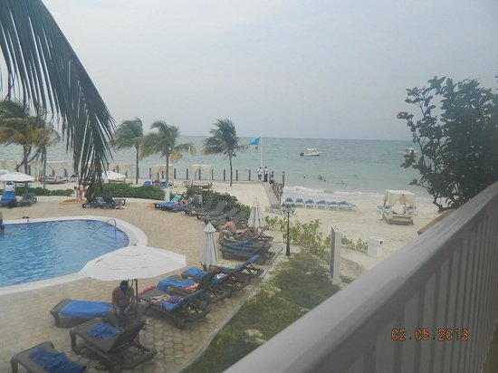 Ocean Maya Royale: our view from our room