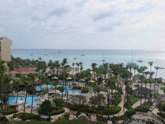 Hyatt Regency Aruba Resort and Casino: View from room 717