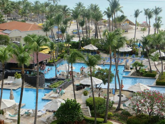 Hyatt Regency Aruba Resort and Casino: Another room view from 717