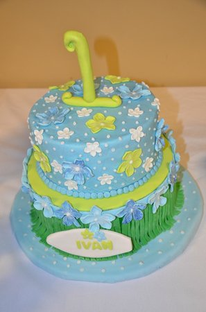 Phenix City, AL: Hawaiian Luau Theme Cake