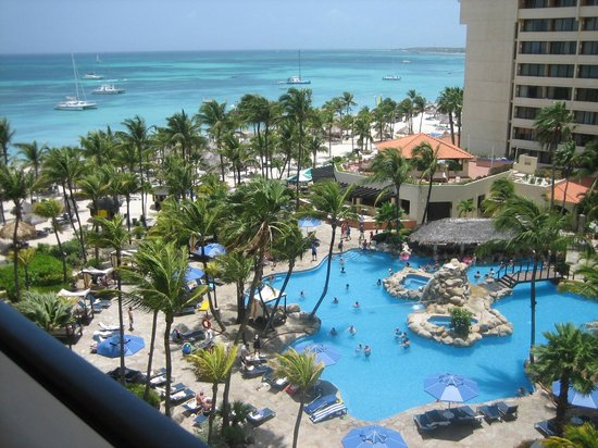 Occidental grand aruba pool area