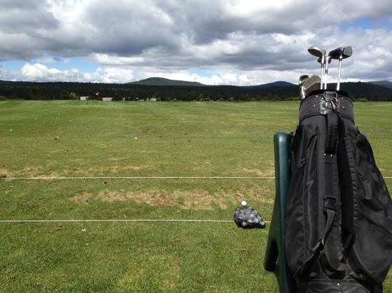 Sunriver, Oregón: Driving range