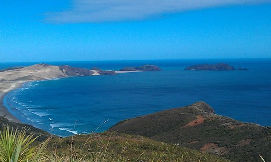 Kaitaia, Nueva Zelanda: View from Cape Reinga