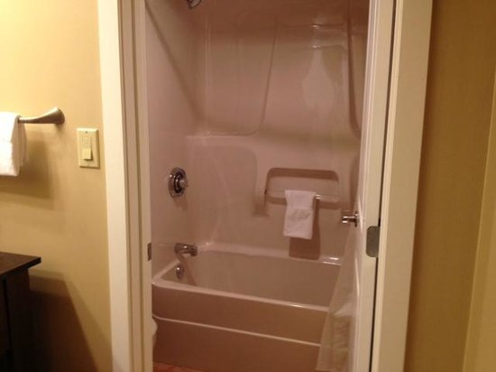 Sicamous, Kanada: Shower, toilet area
