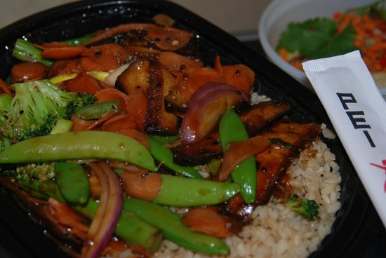 ‪‪Dulles‬, فيرجينيا: Black Pepper Tofu + Vegs‬