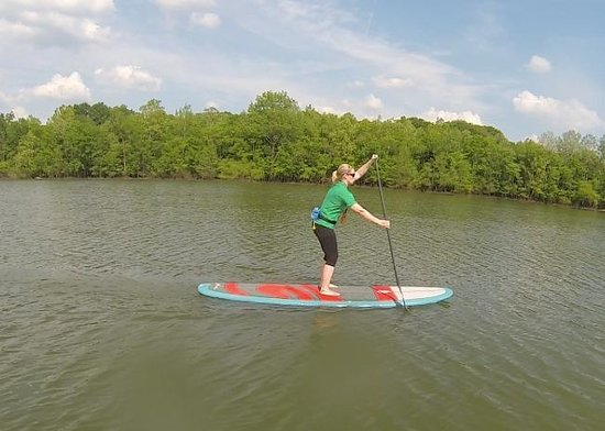 Antioch, TN: Paddling on Percy Priest