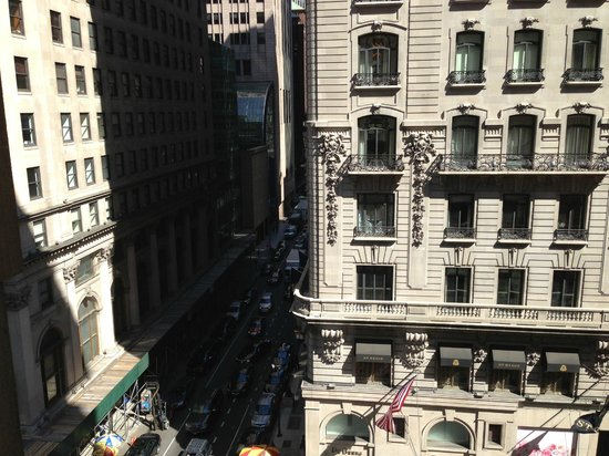 The Peninsula New York: Looking out on 5th Avenue