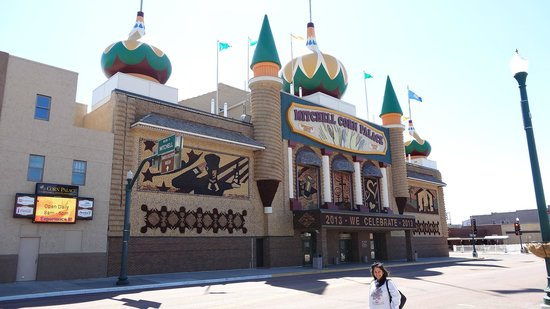Mitchell, SD: The corn palace