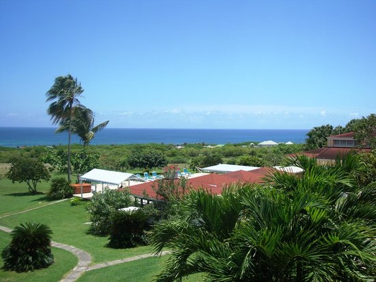 Mount Nevis Hotel and Beach Club: View from one balcony