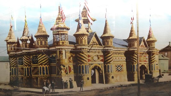 Mitchell, Dakota du Sud : An older year of the Corn Palace