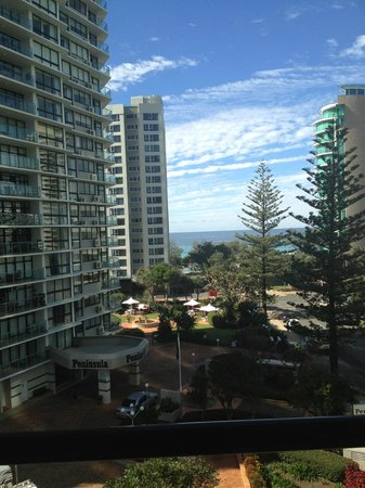 Gold Coast, Australia: View from balcony