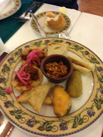 Riu Emerald Bay: Appie plater from Tabasco