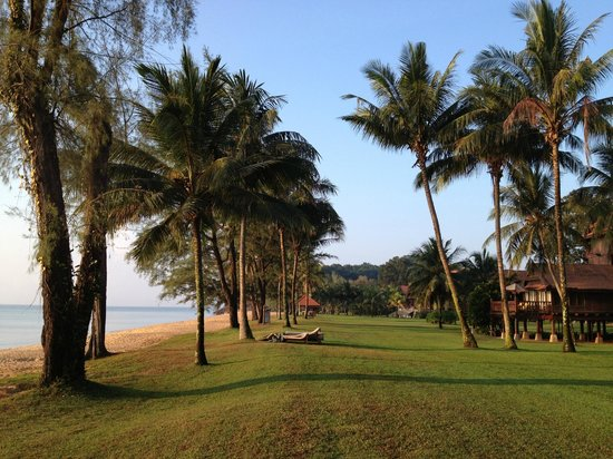 Club Med Cherating Beach: View outside our  room