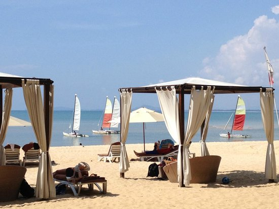 Club Med Cherating Beach: Sailing beach