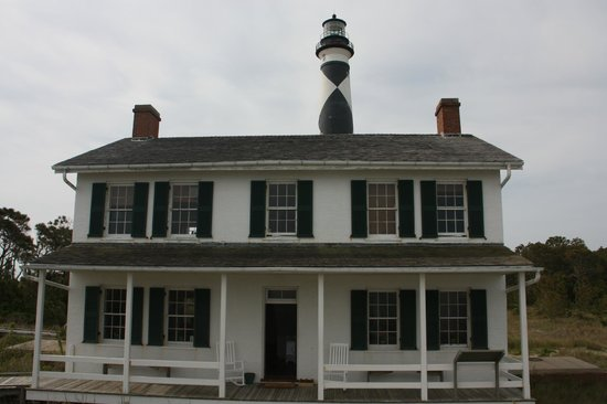 Harkers Island, NC: The lighthouse keeper's house