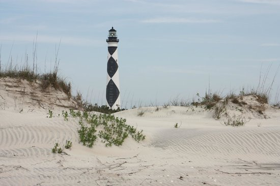 Harkers Island, NC: Light house from the ocean side