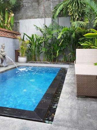 Rama Beach Resort and Villas: the best private pool in bali