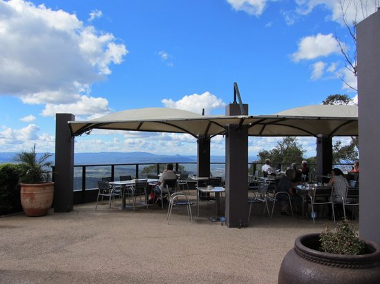 Toowoomba, Australia: Alfresco dining with great views