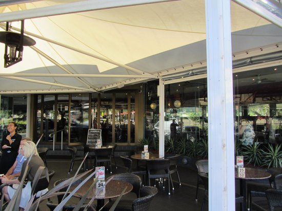 Toowoomba, Australia: Alfresco dining available