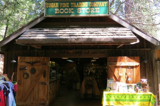 Fish Camp, Californien: Nice little book and souvenir store