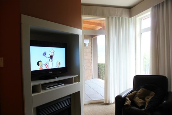Summerland Waterfront Resort & Spa: TV area
