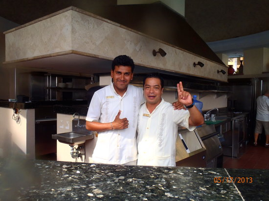 Villa La Estancia: Alfonso and Raul- Look for these guys!