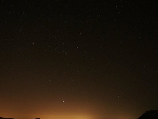 Aguimes, Espagne : The Orion after sunset, from the obserwation site