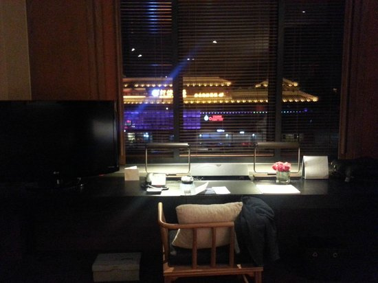 The Westin Xi'an: view from the working desk