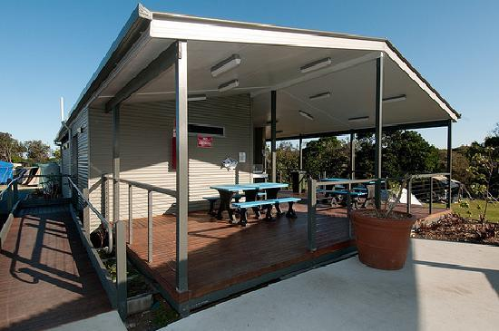 Ballina, Australia: camp kitchen