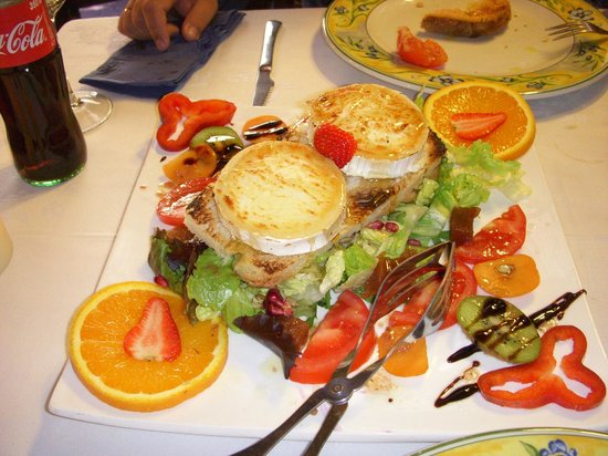 Erts, Andorre : Ensalada de Queso de Cabra 