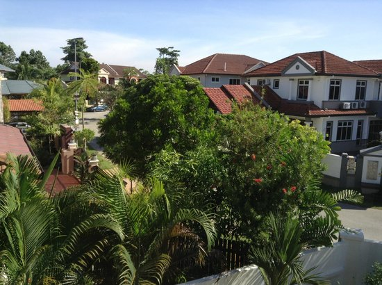 Rumah Putih Bed and Breakfast: View from room