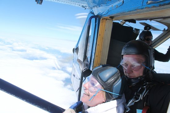 Lincolnshire, UK: In safe hands even at 15,000 feet