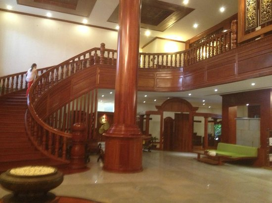 Borei Angkor Resort & Spa: just one of the areas front reception