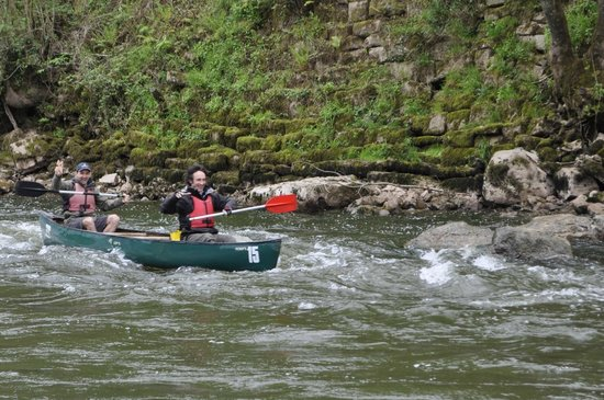 Symonds Yat, UK: Paddling fun