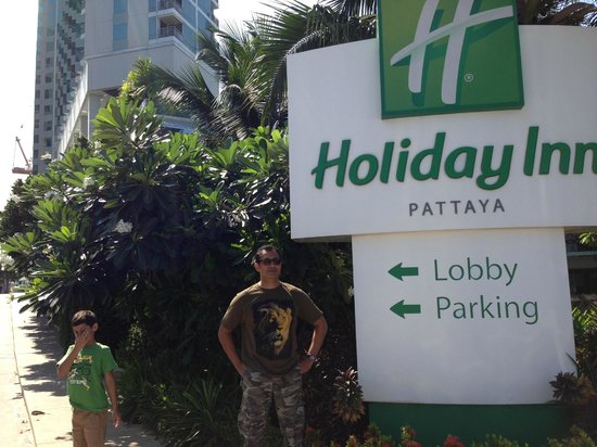 Holiday Inn Pattaya: Entrance of Holiday Inn