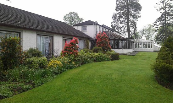 Lockerbie, UK: Beautiful garden terrace rooms