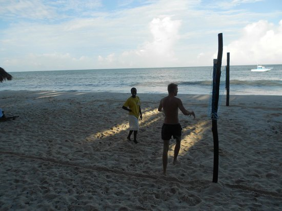 Southern Palms Beach Resort: beach volleyball