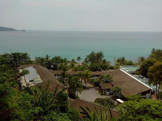 Novotel Phuket: View from our balcony