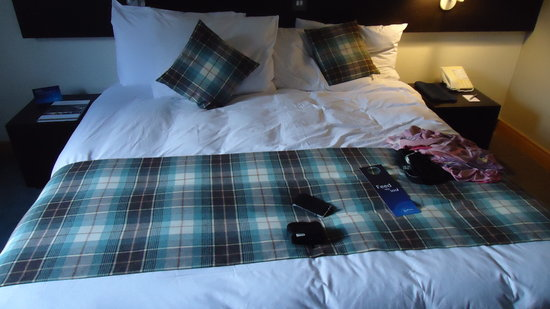Radisson Blu Hotel, Edinburgh: letto