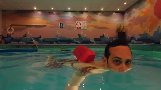 Radisson Blu Hotel, Edinburgh: piscina