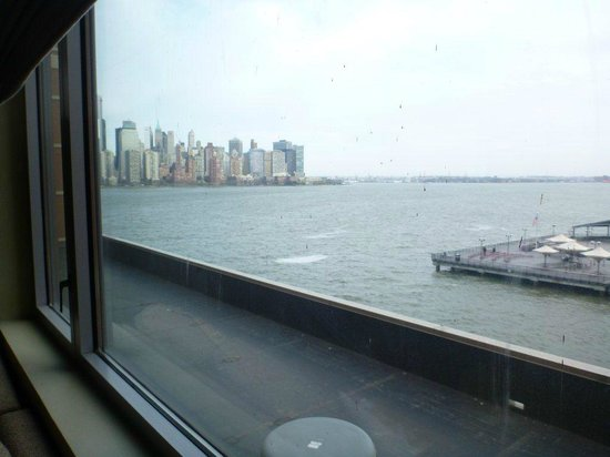 "Hyatt Regency Jersey City : vista ""quasi"" su Manhattan"