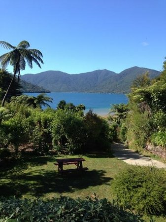 Mahana Lodge: Fabulous view from our lounge area