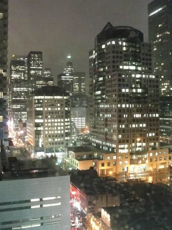 Hyatt Regency Toronto: View from 14th floor room looking downtown