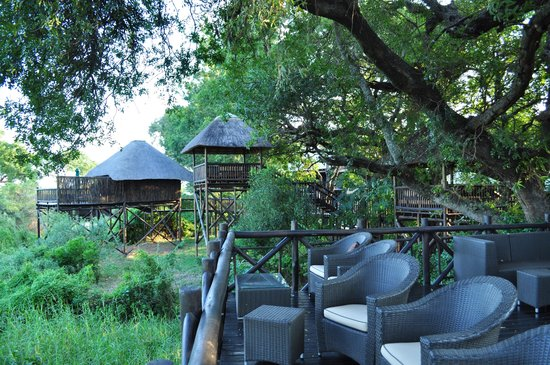 Skukuza, Güney Afrika: Hotel viewing decks