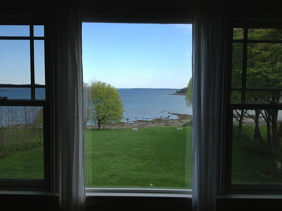 ‪‪Saltair Inn Waterfront B&B‬: View from our suite‬