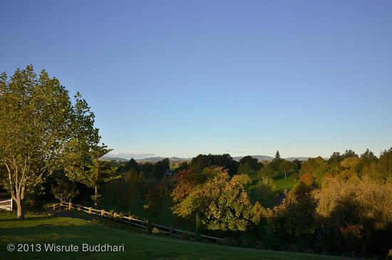 Hamilton, New Zealand: View from the Blackwood House