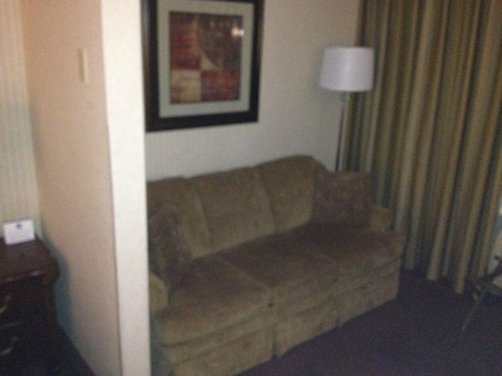 BEST WESTERN PLUS Abbey Inn: Suite with convertible sofa