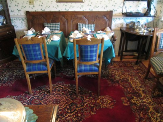 Heathergate House B&B: dining area