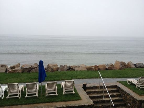 Misquamicut, RI: 2nd floor room view