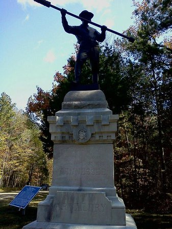 Fort Oglethorpe, Джорджия: Tennessee Military monument in Chickamauga Military Park